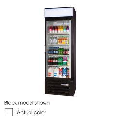 Beverage Air - LV23-1-W-LED - 27 in Lumavue™ Merchandiser with LED & Hinged Doors image