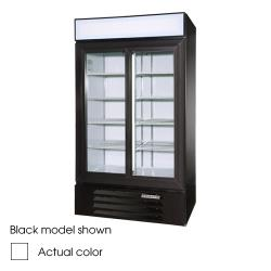 Beverage Air - LV38-1-W-LED - 43 1/2 in Lumavue™ Merchandiser with LED & Sliding Doors image