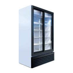 Beverage Air - MT49-1-SDW - 30 cu ft White 2-Door Marketeer™ Merchandiser Fridge image