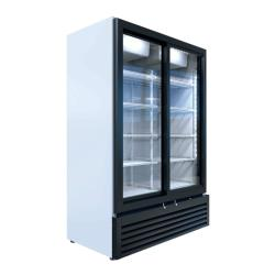 Beverage Air - MT53-1-SDW - 35 cu ft White 2-Door Marketeer™ Merchandiser Fridge image