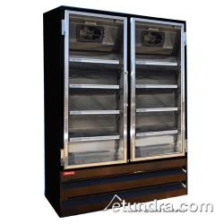Howard McCray - GR48BM-B - 48 cu ft Bottom Mount Black Refrigerated Merchandiser image