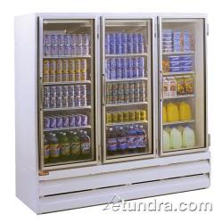 Howard McCray - GR75BM - 75 cu ft Bottom Mount White Refrigerated Merchandiser image