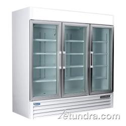 Nor-Lake - NLGR70H - AdvantEDGE 3 Door Refrigerated Merchandiser image