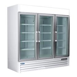 Nor-Lake - NLGR70H-B - AdvantEDGE 3 Door Refrigerated Merchandiser image