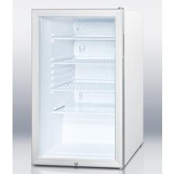 Summit - SCR450LBI - Glass Door Refrigerator image
