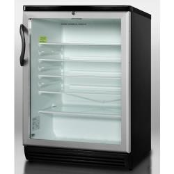 Summit - SCR600BLADA - Black Refrigerator ADA Height image