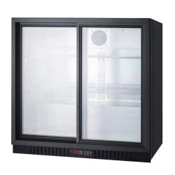 Summit - SCR700B - Sliding Glass Door Beverage Merchandiser image
