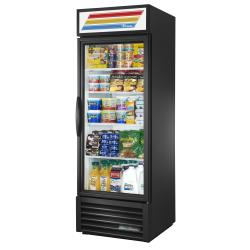 True - GDM-23-HC~TSL01-LH - 23 cu ft Refrigerated Merchandiser w/ 1 Swing Door image