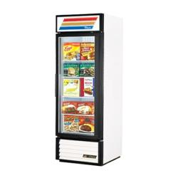 True - GDM-23-LD RH - 23 cu ft Refrigerated Merchandiser w/ 1 Right Hand Swing Door image