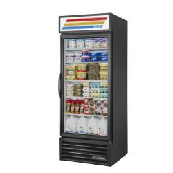 True - GDM-26-HC~TSL01 - 26 cu ft Refrigerated Merchandiser w/ 1 Swing Door image