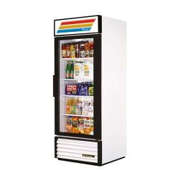 True - GDM-26-LD - 26 cu ft Refrigerated Merchandiser w/ 1 Swing Door image