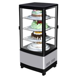 Turbo Air - CRT-77-2R - Diamond Show Case Pass Thru Countertop 4-Sided Glass Merchandiser image
