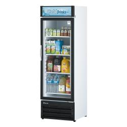 Turbo Air - TGM-14RV-N6 - 12 cu/ft Refrigerated Merchandiser w/ 1 Swing Door image