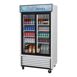 Turbo Air - TGM-35R-N - 35 cu/ft 2-Door Refrigerated Merchandiser image