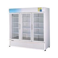 Turbo Air - TGM-72RS - 72 cu/ft Refrigerated Merchandiser w/ 3 Swing Doors image