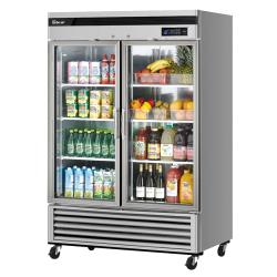 Turbo Air - TSR-49GSD-N - 2-Door Maximum Series Refrigerated Merchandiser image