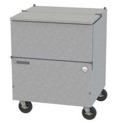 Beverage Air - SM34NHC-S - 34 1/2 in S/S Cold Wall Milk Cooler image