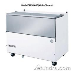 Beverage Air - SM58N-S - 58 1/2 in Stainless Steel Cold Wall Milk Cooler image
