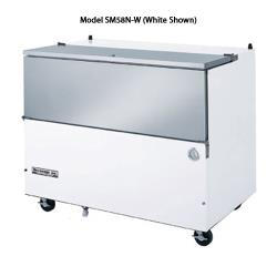 Beverage Air - SM58NHC-S - 58 1/2 in S/S Cold Wall Milk Cooler image