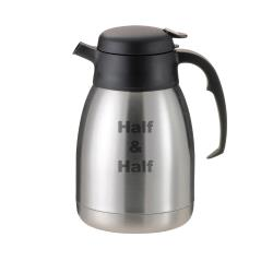 Service Ideas - FVP20HALFET - 2L Etched Half And Half Beverage Server Carafe image