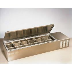"Silver King - SKPS12/C1 - 56 3/4"" Refrigerated Countertop Prep Unit image"