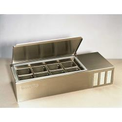 "Silver King - SKPS8/C1 - 43"" Refrigerated Countertop Prep Unit image"