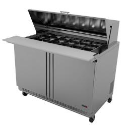Fagor - FMT-60-24 - 60 in 24 Pan Mega Top Prep Table image