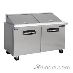 Nor-Lake - NLSMP60-24 - AdvantEDGE 2 Door 60 in Mega Top Prep Table image