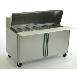 Silver King - SKP6024/C2 - 2 Door Mega Top Sandwich / Salad Prep Table image