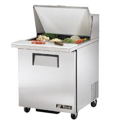 True - TSSU-27-12M-B - Mega Top 1 Door Sandwich Prep Table image