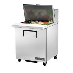 True - TSSU-27-12M-C-HC - 28 in Mega Top 1-Door Sandwich Prep Table image