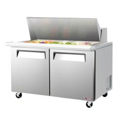 Turbo Air - EST-60-24-N - 60 in 2-Door E-Line Mega Top Sandwich Prep Table image