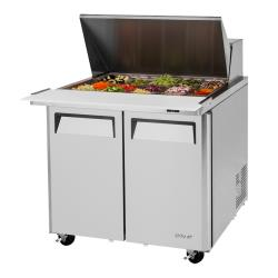 Turbo Air - MST-36-15-N6 - M3 Series Mega Top 2-Door 36 in Sandwich Prep Table image