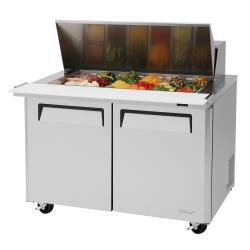 Turbo Air - MST-48-18-N - M3 Series Mega Top 2-Door 48 in Sandwich Prep Table image