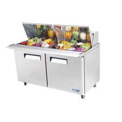 Turbo Air - MST-60-24 - M3 Series Mega Top 2 Door 60 in Sandwich Prep Table image