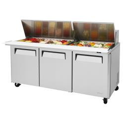 Turbo Air - MST-72-30-N - M3 Series Mega Top 3-Door Sandwich Prep Table image