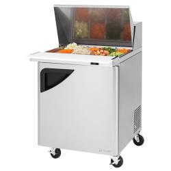 Turbo Air - TST-28SD-12-N - Super Deluxe 1-Door Mega Top Sandwich Prep Table image