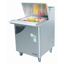 Turbo Air - TST-28SD-12 - Super Deluxe 1 Door Mega Top Sandwich Prep Table image