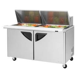 Turbo Air - TST-60SD-24-N - Super Deluxe 60 in Mega Top Sandwich Prep Table image