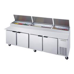 Beverage Air - DP119 - 119 in S/S Pizza Prep Table image
