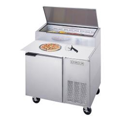 Beverage Air - DP46 - 46 in S/S Pizza Prep Table image