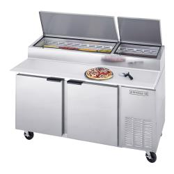 Beverage Air - DP67 - 67 in S/S Pizza Prep Table image