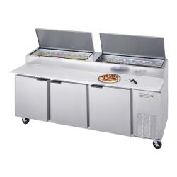 Beverage Air - DP93HC - 93 in S/S Pizza Prep Table image