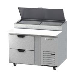 Beverage Air - DPD46HC-2 - 46 in 2 Drawer Pizza Prep Table image