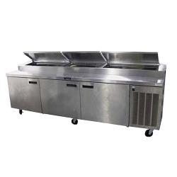 Delfield - 186114PTBM - 114 in Refrigerated Pizza Prep Table image