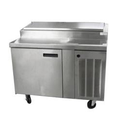 Delfield - 18648PTBM - 48 in Refrigerated Pizza Prep Table image