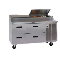 Delfield - 18660PTBM - 60 in Refrigerated Pizza Prep Table image
