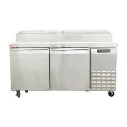 Hoshizaki - CPT67 - 67 in Refrigerated Counter Pizza Prep Table image