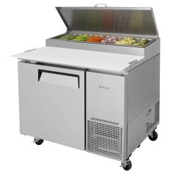 Turbo Air - TPR-44SD-N - Super Deluxe 1-Door Pizza Prep Table image