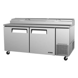 Turbo Air - TPR-67SD - Super Deluxe 2 Door Pizza Prep Table image
